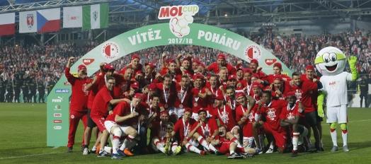 Finále poháru MOL Cup 2017/2018