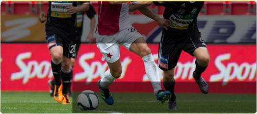 SK Slavia Praha a.s.: zajišťujeme reklamní bannery LED obrazovek